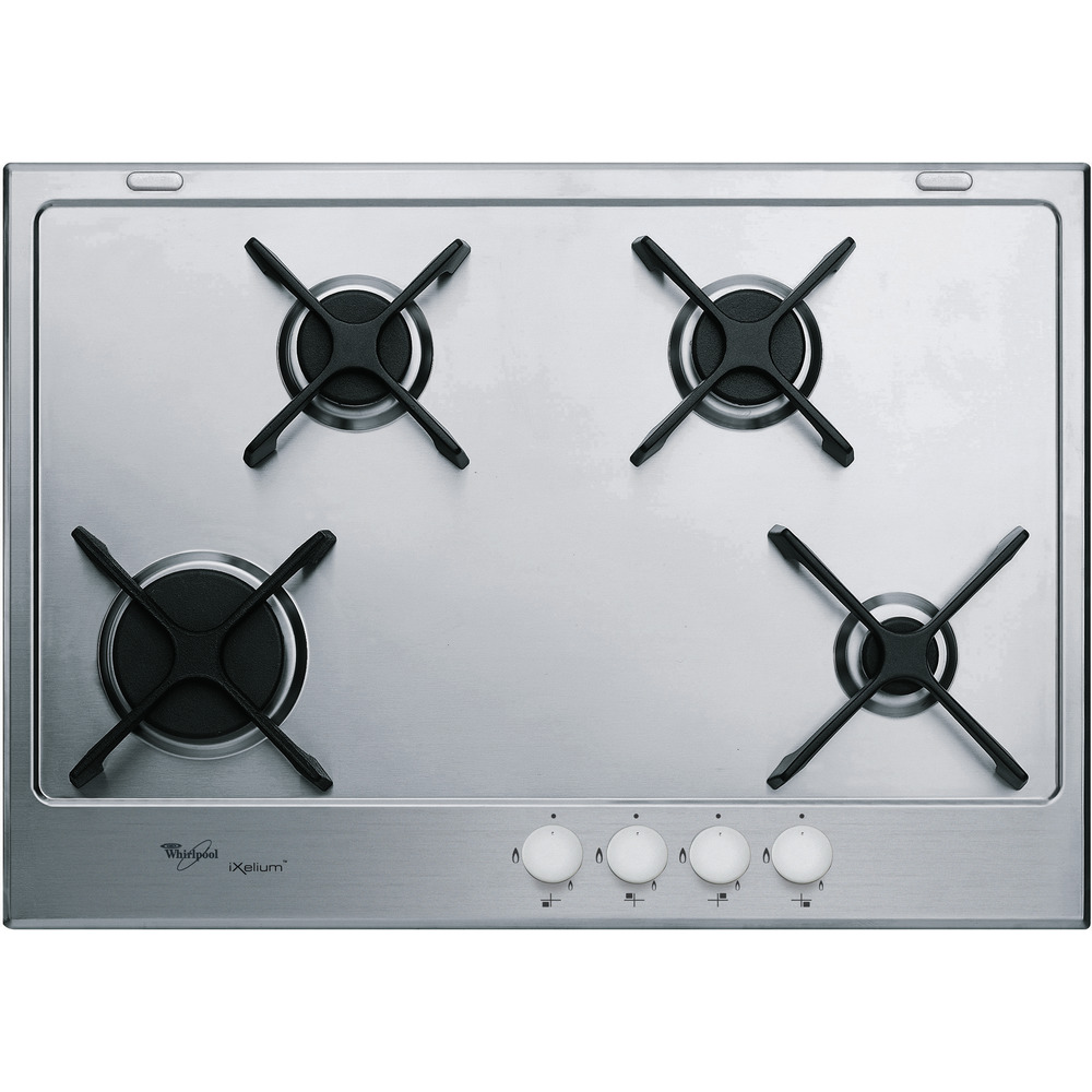 75cm iXelium™ stainless steel gas hob GMA 7414/IXL
