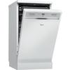Szabadonálló, 10 terítékes keskeny mosogatógép ADPF 941 WH