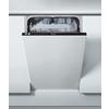 Beépíthető, teljesen integrálható, 10 terítékes keskeny mosogatógép ADG 221