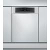 Beépíthető, külső vezérlőpaneles, 10 terítékes keskeny mosogatógép ADG 422 IX