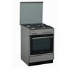 Κουζίνα με 4 εστίες γκαζιού & ηλεκτρικό φούρνο με 8 λειτουργίες, χωρητικότητας 59 λίτρων. ACMK 6332/IX