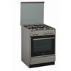 Κουζίνα με 4 εστίες γκαζιού, φούρνο γκαζιού με λειτουργία γκρίλ & ρύθμιση θερμοκρασίας, χωρητικότητας 62 λίτρων. ACMK 6121/IX
