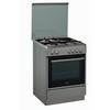 Κουζίνα μικτή με 3 εστίες γκαζιού, 1 ηλεκτρική & ηλεκτρικό φούρνο με 10 λειτουργίες, χωρητικότητας 61 λίτρων. ACMK 6433/IX