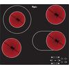Keramisk kogeplade 60 cm - Sort glaskant - AKT 8210/NE