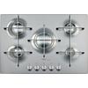 75cm iXelium™ stainless steel gas hob AKT 799/IXL