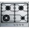 Karcálló iXelium® felületű inox gázlap, 59 cm széles AKT 621/IXL