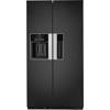 Side by side de culoare negru lucios, dotat cu Tehnologia Al 6lea Simt si sistem de racire Total No Frost WSN5586 A+ N