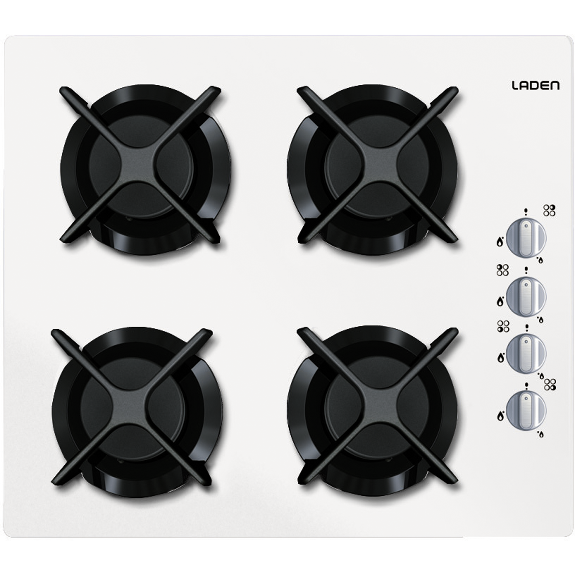appareils lectrom nagers laden le choix malin plaque de cuisson gaz sur verre pgv 300 wh. Black Bedroom Furniture Sets. Home Design Ideas