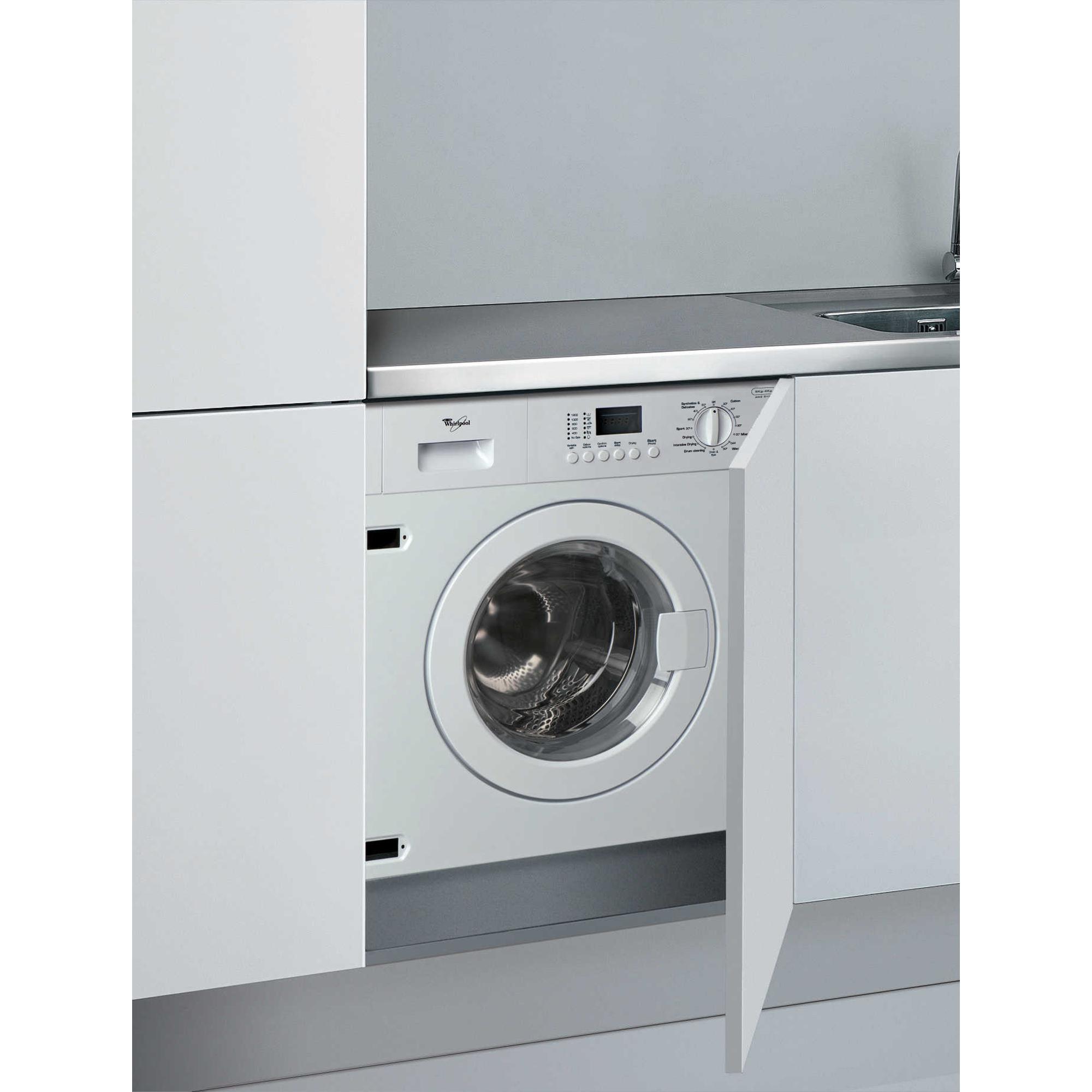 built in washer condenser dryer awz 612 whirlpool ireland. Black Bedroom Furniture Sets. Home Design Ideas