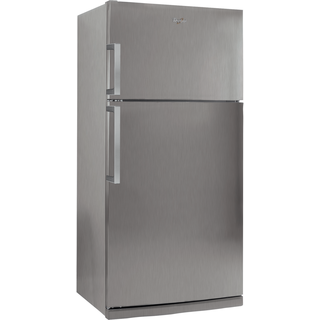 Double Porte Total No Frost, 76*182 cm, revêtement en Inox WTH4910  NFX