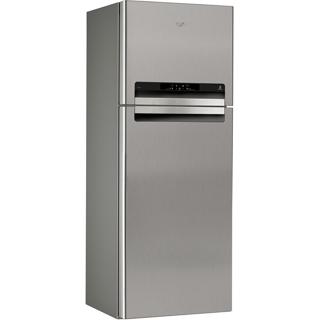 Felülfagyasztós ABSOLUTE design NoFrost hűtőszekrény, A+ energiaosztály WTV4597 NFC IX