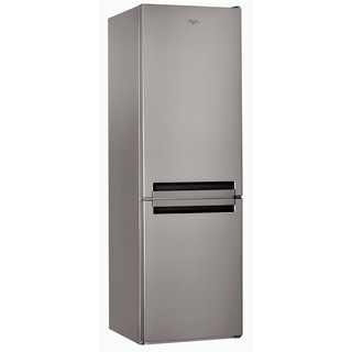 Whirlpool freestanding fridge freezer: frost free - BSNF 8151 OX