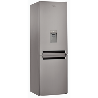 Whirlpool freestanding fridge freezer: frost free - BSNF 8451 OX AQUA