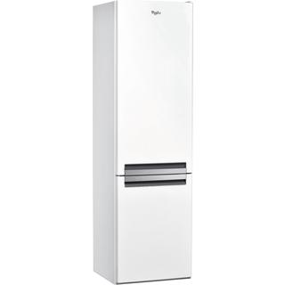 Supreme NoFrost alulfagyasztós hűtőszekrény BSNF 9152 W
