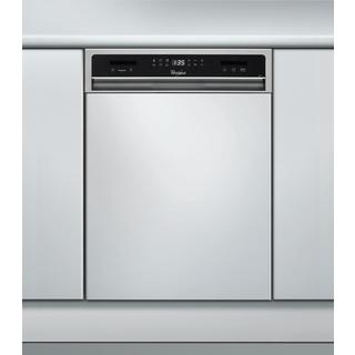 Beépíthető, külső vezérlőpaneles, 10 terítékes keskeny mosogatógép ADGU 941 IX