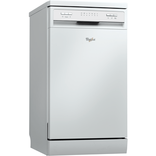 Whirlpool dishwasher: slimline, white color - ADPF 782 WH
