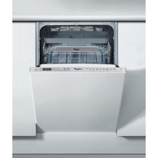Beépíthető, külső vezérlőpaneles, 10 terítékes keskeny mosogatógép ADG 522 X