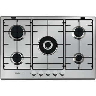 Whirlpool gas hob: 5 gas burners - GMA 7521/IXL