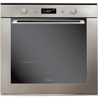 Whirlpool built in electric oven: inox color, self cleaning - AKZM 755/IX