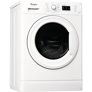 Whirlpool freestanding washer dryer: 7kg - WWDE 7512