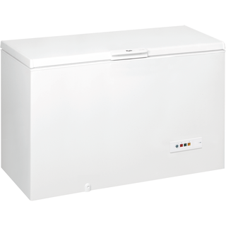 Whirlpool freestanding chest freezer: white color - WHM4611