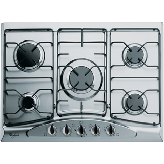 Table de cuisson au gaz en Inox 68 cm AKM 361/IX/01