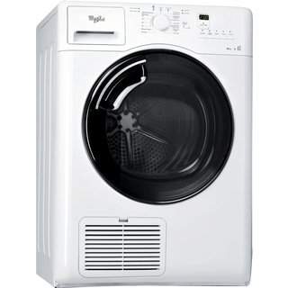 Whirlpool tumble dryer: freestanding, 8kg - AZB 8570