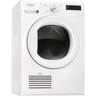 Whirlpool condenser tumble dryer: freestanding, 7kg - DDLX 70110