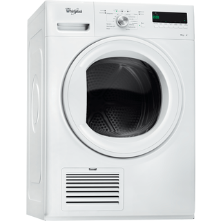 Whirlpool heat pump tumble dryer: freestanding, 9kg - DDLX 90110