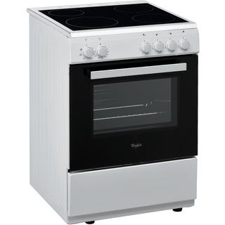 Komfur med keramisk kogeplade - 60 cm - ACM 2250