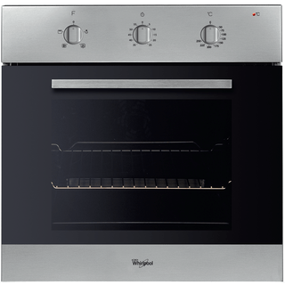Whirlpool built in electric oven: inox color - AKP 436/IX