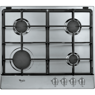 Whirlpool gas hob: 4 gas burners - AKR 311/IX