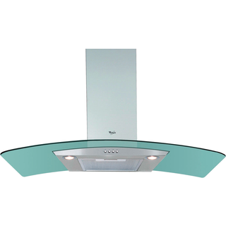 Whirlpool wall mounted cooker hood - AKR 982 IX