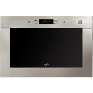 Whirlpool built in microwave oven: stainless steel color - AMW 494 IX