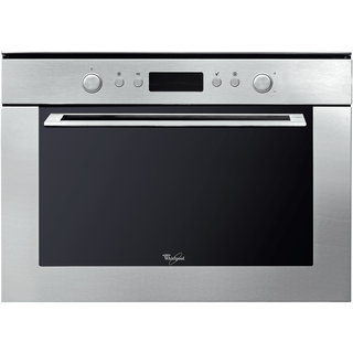 Whirlpool built in microwave oven: stainless steel color - AMW 820/IX