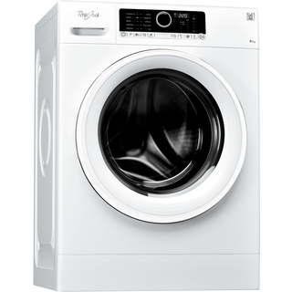 Whirlpool freestanding front loading washing machine: 8kg - FSCR80415