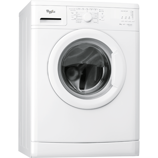 Whirlpool freestanding front loading washing machine: 6kg - WWDC 6210