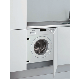Whirlpool built in front loading washing machine: 7kg - AWOE7143