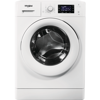 Whirlpool freestanding front loading washing machine: 9kg - FWD91496W UK