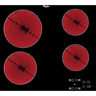 Keramisk kogeplade 60 cm - Sort glaskant - AKT 8090/NE