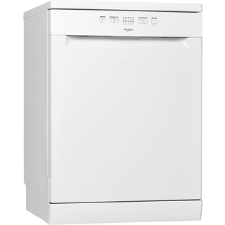Whirlpool dishwasher: full size, white color - WFE 2B19 UK