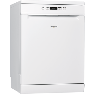 Whirlpool dishwasher: full size, white color - WFC 3B19 UK