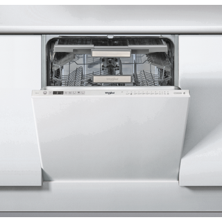 Whirlpool integrated dishwasher: full size, inox color - WIO 3O33 DEL UK