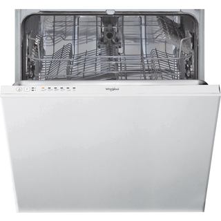 Whirlpool integrated dishwasher: full size, white color - WIE 2B19 UK