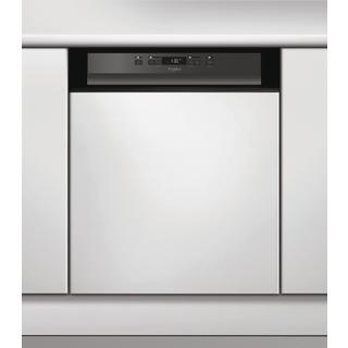 Beépíthető, 13 terítékes, külső vezérlőpaneles mosogatógép (60 cm széles) WBC 3B19 B