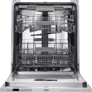 Whirlpool integrated dishwasher: full size, silver color - WIC 3C23 PEF UK