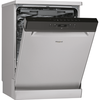 Whirlpool dishwasher: full size, inox color - WFC 3C26 F X UK