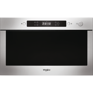 Whirlpool built in microwave oven: stainless steel color - AMW 423/IX