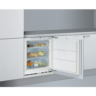 Whirlpool integrated upright freezer: white color - AFB 91/A+/FR