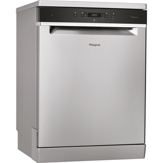 Whirlpool dishwasher: inox color, full size - WFC 3C24 P X UK